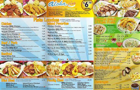 menu cuisine az fast food source fast food menus and blogs ono bbq menu