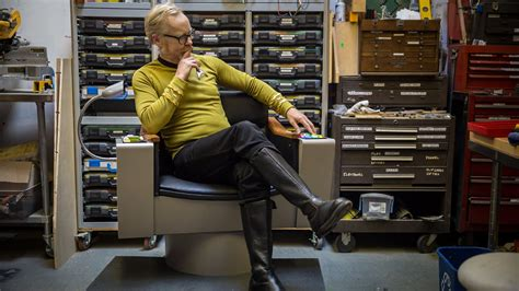 adam savage s one day builds trek captain s chair