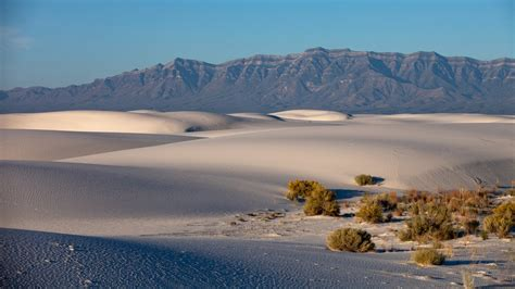 mexicos white sands  officially  national park