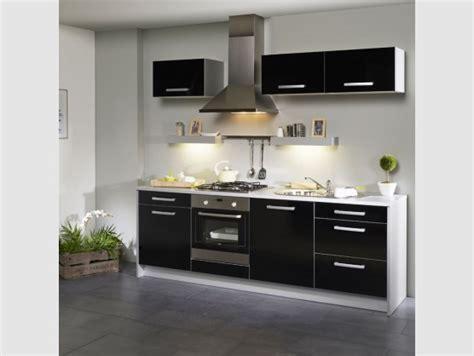 meuble haut cuisine pas cher meuble de cuisine noir pas cher