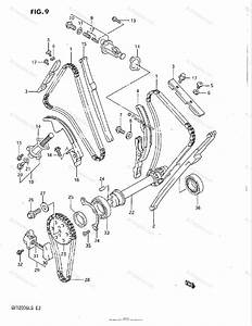 Suzuki Motorcycle 1985 Oem Parts Diagram For Cam Chain