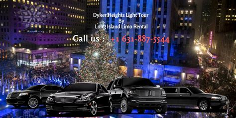 limo christmas light tour dyker heights brooklyn light limo tour