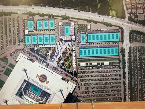 hard rock stadium living   role  global