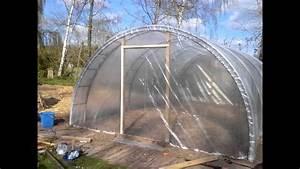 Comment Tuber Une Cheminée Ancienne : permaculture construction d 39 une serre de 26 m2 pour 250 youtube ~ Melissatoandfro.com Idées de Décoration