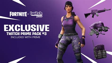 twitch prime pack     fortnite