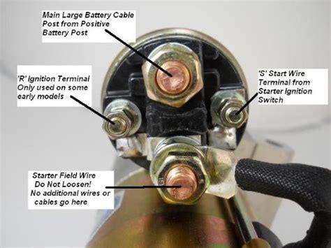 Starter Solenoid Wiring Corvetteforum