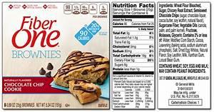 fiber one brownie nutrition label top label maker With fiber label maker