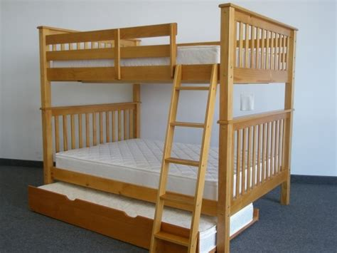save on bunk bed with trundle honey