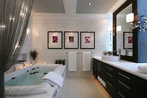 Wall art ideas for bathroom contemporary with subway tile for Best brand of paint for kitchen cabinets with abstract bathroom wall art