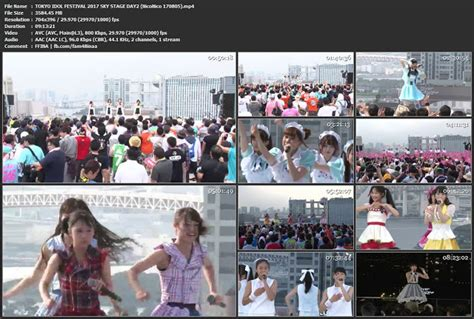 concert  tokyo idol festival  sky stage day
