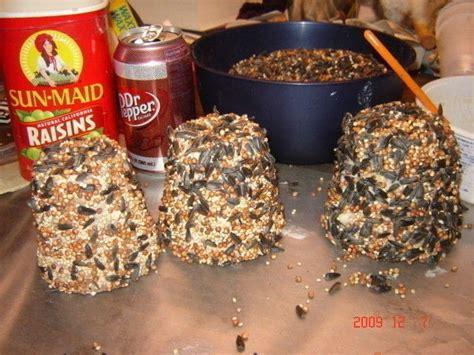 bird seed bells treats 183 how to make a bird feeder