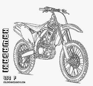 free printable motorcycle coloring pages coloringsnet With honda 400 dirt bike