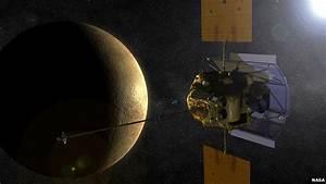 Messenger Nasa probe will soon enter Mercury orbit - BBC News