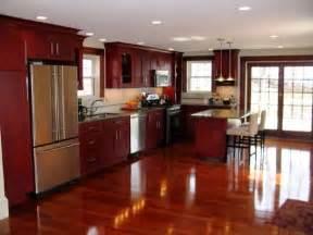 kitchen ideas cherry cabinets cherry shaker kitchen cabinets home design ideas