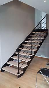 Escalier Fer Et Bois : nos verri res escalier design 14 escalier limon fer ~ Dailycaller-alerts.com Idées de Décoration