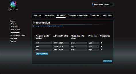 ouvrir ses ports orange r 233 solu ouvrir ses ports pour un serveur minecraft pe upc community