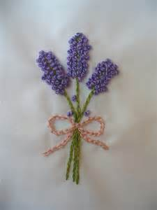 Easy Lavender Embroidery