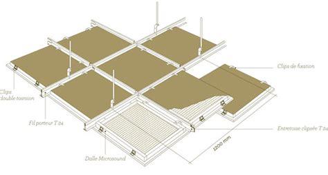 dalle de faux plafond 60x60 max min