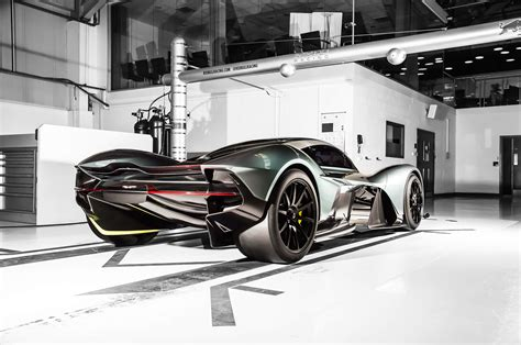 Exotic Aston Martin Valkyrie Lands At Geneva From Another