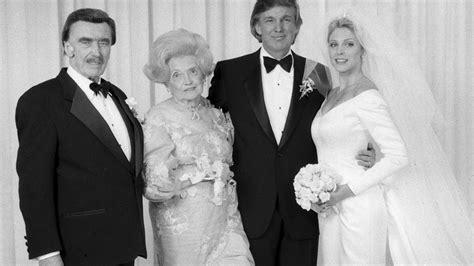 donald trump his mary father fred him true making daughter marla maples wife mother tiffany second parents trumps grandfather greatness