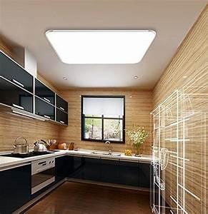 Moderne Lampen Schlafzimmer : mctech 64w led plafonnier ultraslim moderne plafonnier corridor salon lampe chambre energy ~ Whattoseeinmadrid.com Haus und Dekorationen