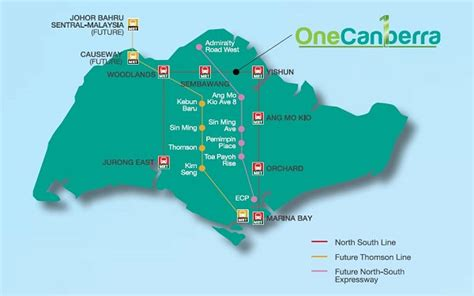 canberra ec location singapore hdb ec  ec launch