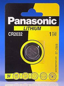 3 Volt Coin Lithium Battery Cr2032 Panasonic Or Duracell