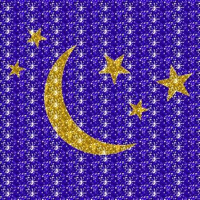 Glitter Graphics Moon Stars Sparkles