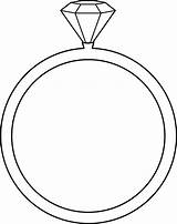 Ring Fire Drawing Coloring Getdrawings Diamond sketch template