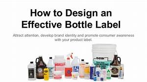 how to design an effective bottle label for your brand With how to design a label for a bottle