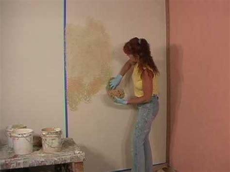 Howto Faux Paint A Blended Sponge Painting Technique