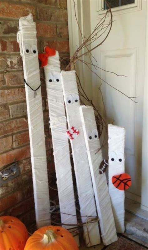 fantastic reclaimed wood halloween decorations