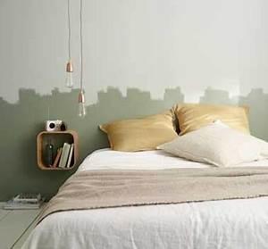 Tete De Lit Castorama : t te de lit d co en peinture naturelle pour la chambre ~ Dailycaller-alerts.com Idées de Décoration