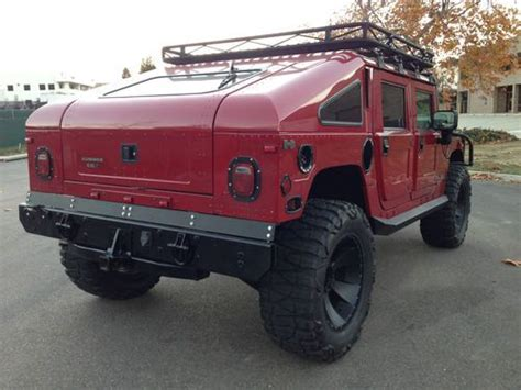 original hummer h1 find used 2000 hummer h1 slant back 1 of 39 original made