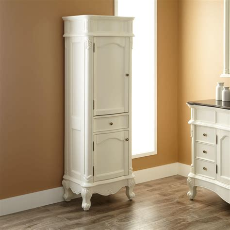Furniture White Over The Door Bathroom Cabinet With