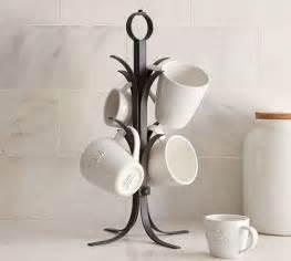vintage blacksmith mug tree pottery barn