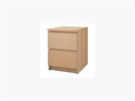 Malm Nightstand Ikea by Brand New Still In Box Ikea Malm Nightstand Birch
