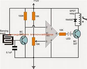 Programmable Humidity Controller Circuit