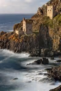 Coast Mines Cornwall England