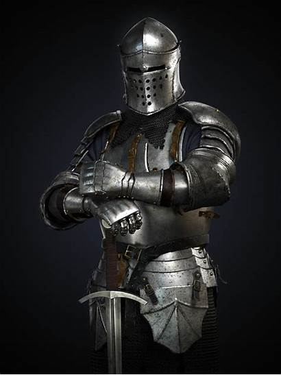 Knight Medieval Armor Fantasy Female Soldiers Ancient
