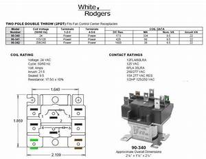 Ac Thermostat Wiring Diagram Dpdt