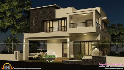 4 Bedroom Modern House Design Plans Designs Two One 2018