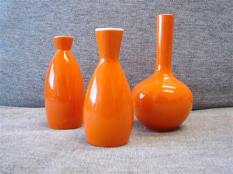 Orange Vase by Vintage Japanese Orange Bud Vase Giveaway Start Your Own