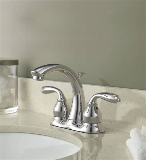 Moen Ca84292 Bayhill Twohandle Lavatory Centerset Faucet