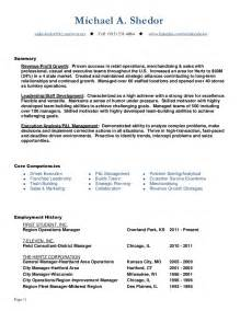 continuous improvement manager resume sle continuous improvement operations leader resume of mike shedor