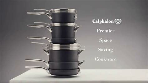 calphalon premier space saving cookware tv commercial stacking ispottv