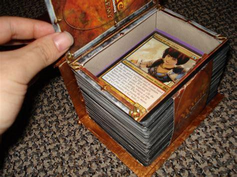 Edh Deck Box Custom by Custom Spell Book Deck Box Version 2 Artwork