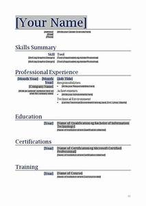 free printable resume templates learnhowtoloseweightnet With free resume templates to print