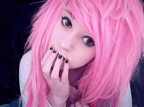 Cute Girl Pink Hair Pretty Inspiring Animated