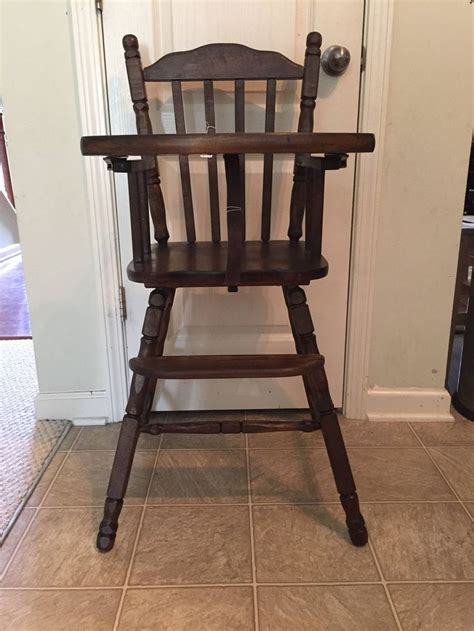 Vintage Lind Wooden High Chair by 25 Best Ideas About Wooden High Chairs On